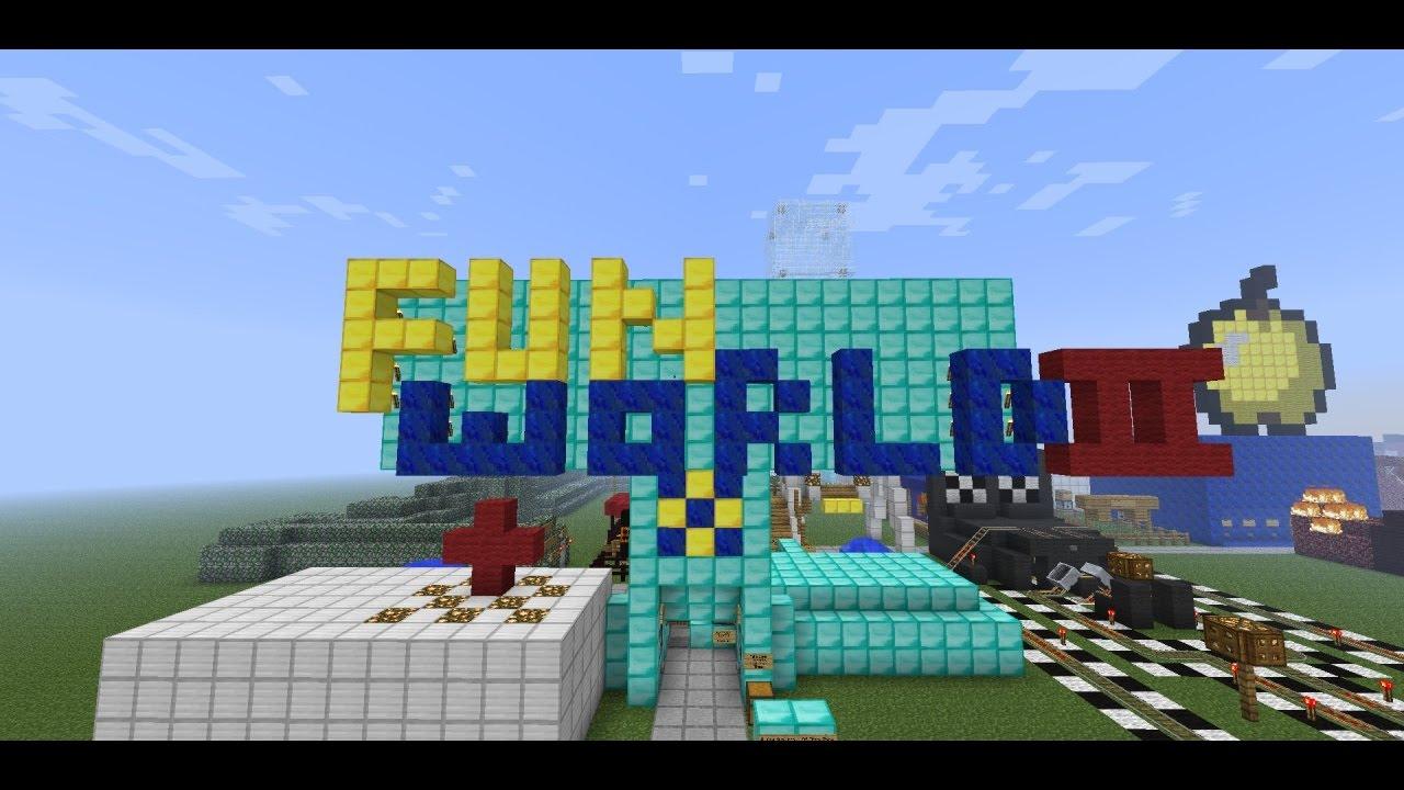 Fun World 2 Amusement Park V28 Maps For Minecraft